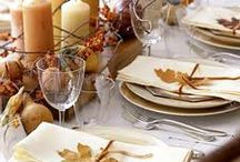 tablescapes - Harvest