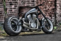 Bikes / Bikes, Bobber, motorcycle, Harley