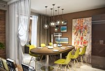Private small interior design for living room / Private small interior design for living room