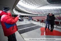 Walentynki na Stadionie Narodowym w Warszawie 14.02.2013 r.