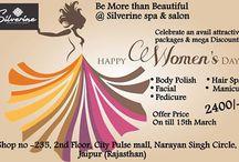 #Women's Day Celebration by Silverine #Spa & Salon
