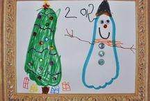 Winter/Christmas crafts / by Rachel Baysinger