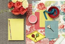 Moodboards / Get your creative juices flowing from these colourful moodboards, giving you inspiration for your next interior design project.