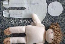 Muñecas de trapo y manualidades