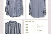 Pattern men's clothes