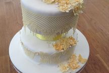 Sugar Lace Cakes / Cakes with sugar lace decoration, wedding cakes, birthday cakes