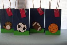 Menino bola e futebol