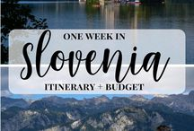 Slovenia Bucket List / Best things to see and do in Slovenia, dream destinations, transportation, attractions, excursions, places to see. Best cities, best rural areas, hiking, outdoors, camping.