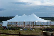 Tente de 10X15 mats bambous