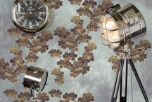 MEYSTYLE Nina Collection / Digital print on wallpaper with Incorporated LED lights and Swarovski Crystals.