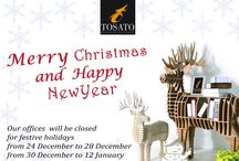 Tosato's wishes /  Have a Merry Christmas and a Happy New Year!