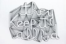 Typography / by Noelle