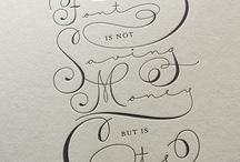 Lettering / by leizaelf