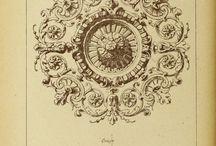 Графика лепнина орнамент