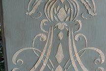 raised stencil