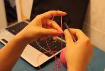 Knitting / Kötés