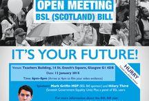 BSL Scotland Bill Campaign / British Sign Language Scotland Bill