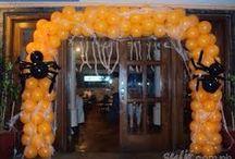 Halloween Ideas / Balloon Decorations