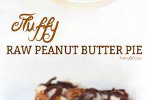 raw peanut butter