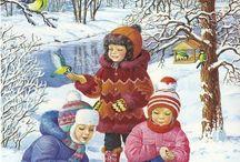 Zima - przedszkole