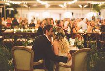 Rustic Vineyard Wedding Décor / Photo Credit: The Nickersons Venue: Triunfo Creek Planner: Gloria Meti Theme: Intimate vineyard wedding, romantic, crisp white blooms & rustic foliage.