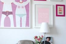 Hubba bubba / Pink interiors