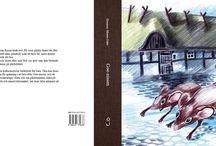 Goe-nissen, en äkta skånsk saga / Om den skånske gårdstomten. A children´s book about the Swedish folklore magic gnome who lived in the barn around 1850. Illustrator Eleonore Nilsson Odén.