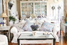 shabby chic decorating ideas / by Lee Ann Davis Small