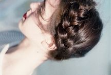 Braids, braids, braids. / by Jessica Quirk | What I Wore