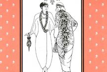 1920s - patterns / Sewing, knitting, embroidery - everything that can help nail that 20s look.