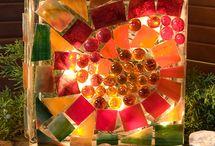 garden decorations / by Marianne Hutchins-Mejia