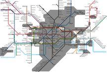 Map / public transportation