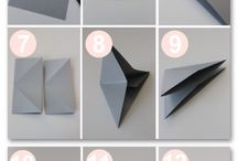 DIY origami diamant