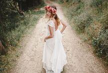 Bodas Immaclé en el bosque / Un entorno único y especial para los vestidos de novia vintage Immacle. Una boda de Foraster Fotografos