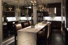 Bar area penthouse