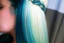Hair dyed