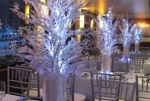 Fairy Trees centerpieces