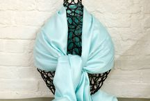 Pashminas and Scarves / Accent your wardrobe throughout the season.