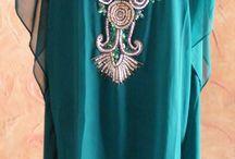 Islamic Clothing & Dresses / Get Customised Islamic Clothing - Designer Kaftans, Farasha, Islamic Abayas and jalabiya Dresses at http://www.runwayfashion.in