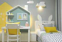 Ide desain: kamar anak cewek