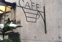 コーヒーショップのデザイン