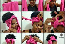 peinados y turbantes