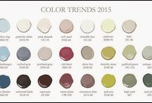 Color Trends / Swatch Inspiration