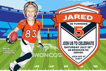 Denver Broncos Invitation