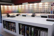 Fabric showroom