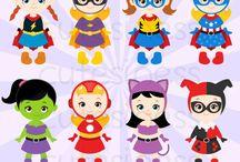 Festa super heroínas
