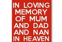 in loving memory at Christmas  birthday's and father's day and mother's day