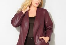 Color Trend: Merlot / Plus size women's fashion in the trendy fall color, merlot.