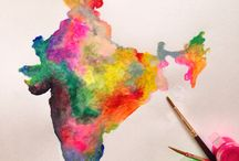 awesome and colourful india