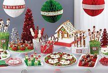 dessert table for christmas
